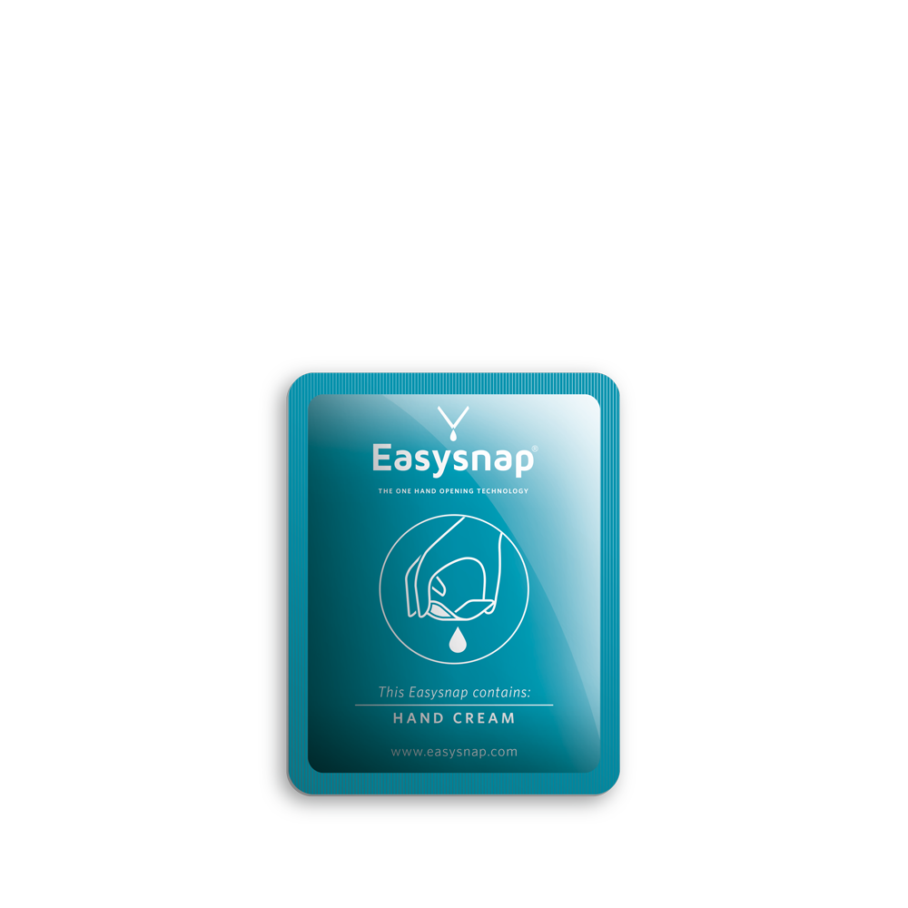Opening pack easysnap one hand