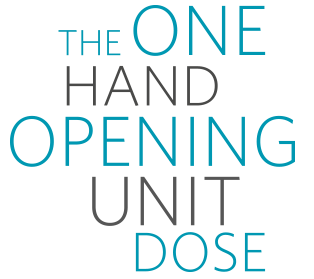 The One Hand Opening Unit Dose