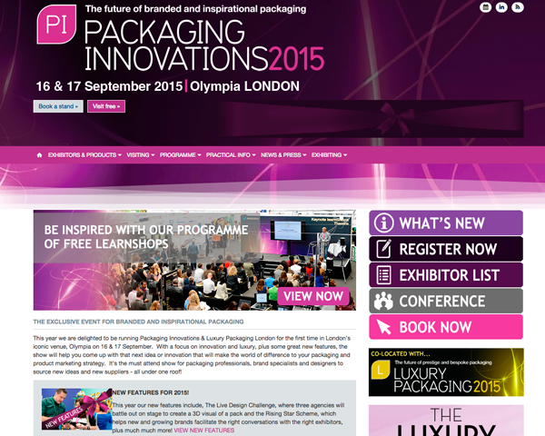 Easysnap at Packaging Innovations 2015