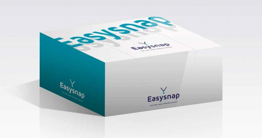 Easysnap - Secondary packaging for Easysnap