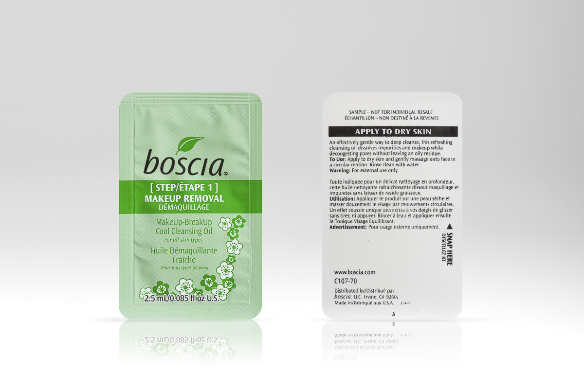 Boscia Easysnap one hand opening make up remover