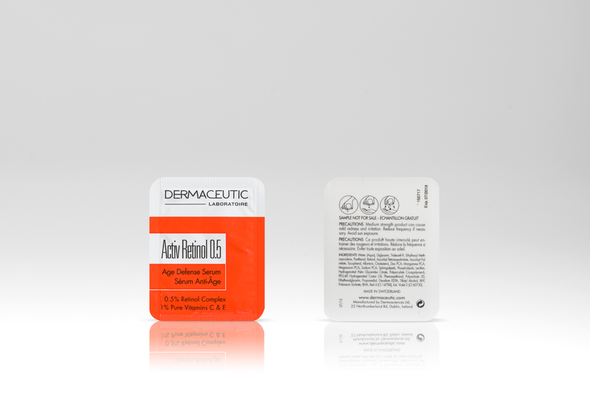 Dermaceutic Easysnap one hand opening single dose