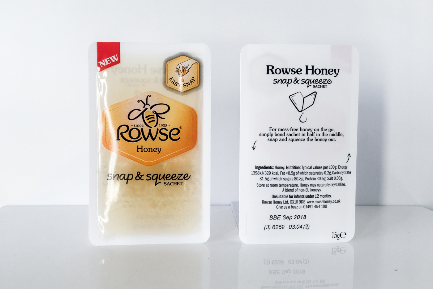 Rowse Honey Snap & Squeeze Easysnap one hand opening