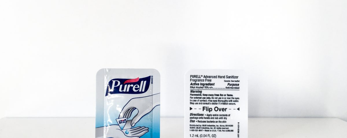Purell Easysnap one hand opening unit dose packaging
