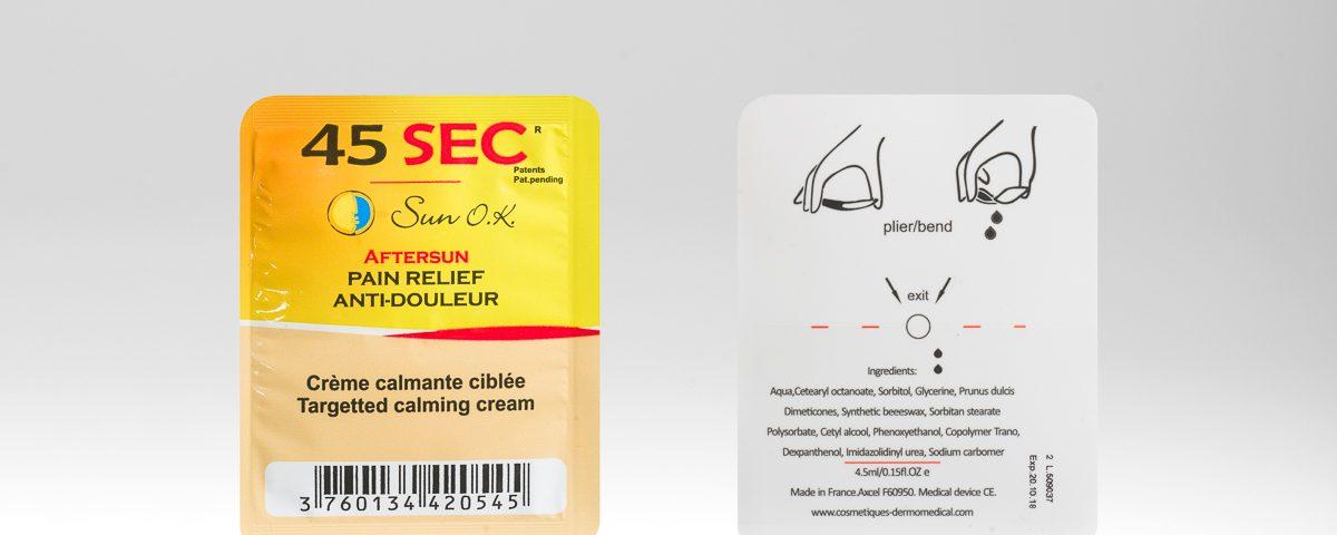 Pain Relief Easysnap Packaging