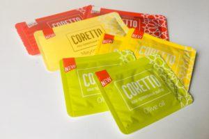 Coretto Easysnap Single portion pack food