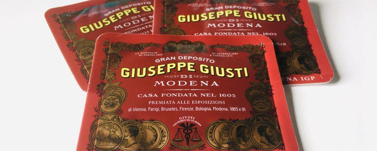 Giuseppe Giusti Easysnap Aceto Balsamico