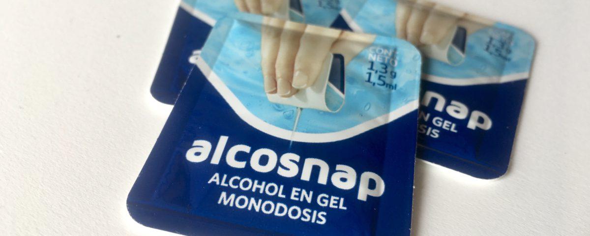 Alcosnap Hand Sanitizer Easysnap