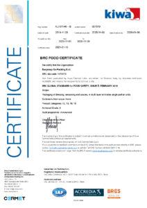 Certif BRC Easy Snap