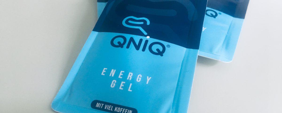 QNIQ Easysnap packaging energy gel